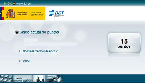 15 Puntos DGT