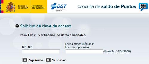 solicitud-clave-acceso-puntos-carnet