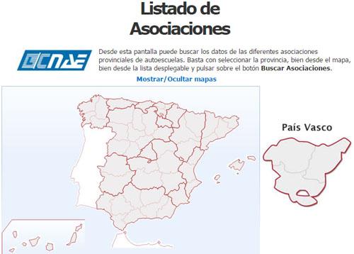 Autoescuelas Asociadas CNAE