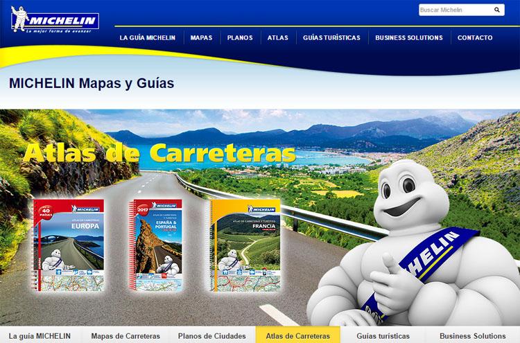 Guia Michelin Y Via Michelin Itinerarios Rutas Restaurantes Y