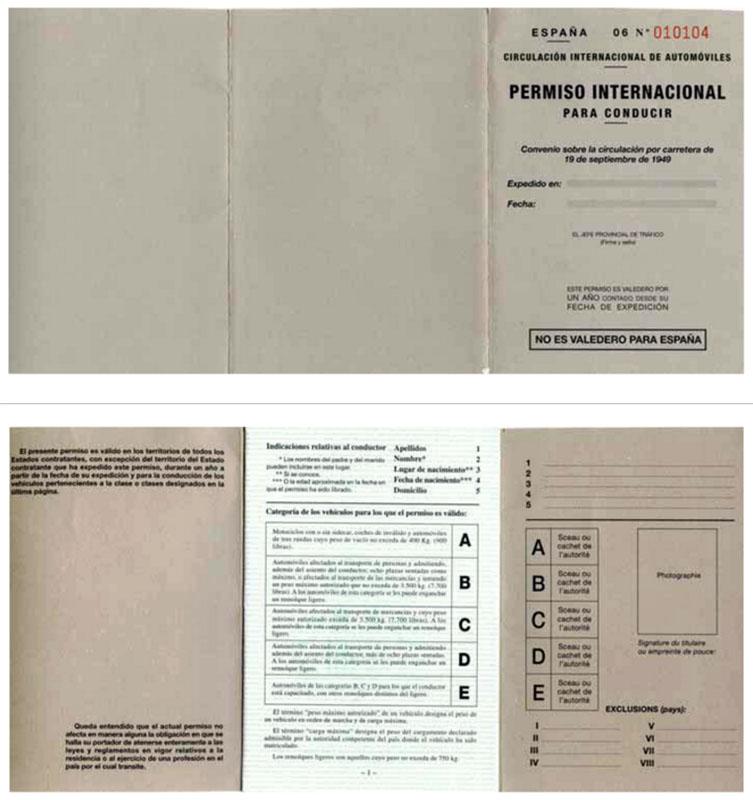 Carnet de Conducir Internacional en España